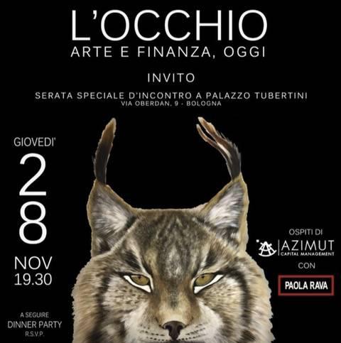 L'OCCHIO – ARTE E FINANZA OGGI
